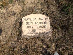 Matilda <I>Adams</I> McKoy