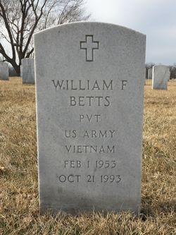 William F Betts