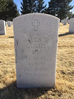Allen D Curtis