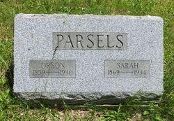 Sarah <I>Wolcott</I> Parsels