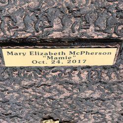"Mary Elizabeth ""Mamie"" McPherson"