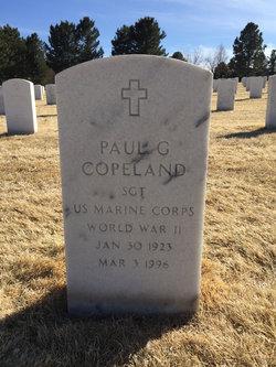 Paul G Copeland