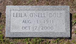 Leila O'Nell Dole