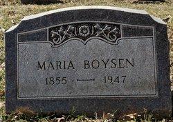 Maria <I>Henningsen</I> Boysen