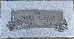 Mary Alice <I>Bains</I> Walk