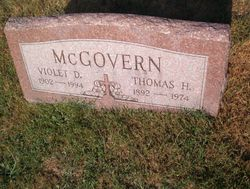 Violet D McGovern