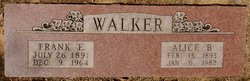 Alice D <I>Bolding</I> Walker