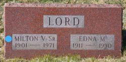 Milton Van Leer Lord Sr.