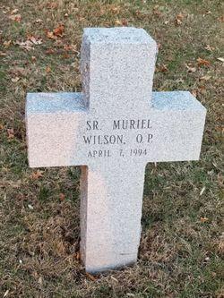 Sr Muriel Wilson