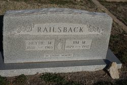 Nettie Mae <I>Shafer</I> Railsback