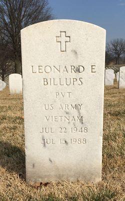 Leonard E Billups