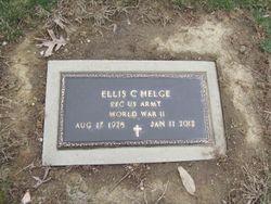 """Ellis C  """"Bud"""" Helge (1928-2012) - Find A Grave Memorial"""