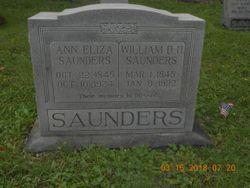 Ann Elizabeth <I>New</I> Saunders