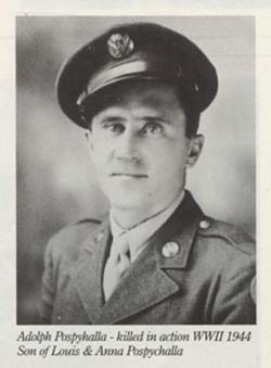SSGT Adolph R. Pospyhalla
