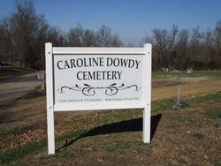 Caroline Dowdy New Bethel Cemetery