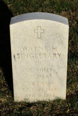 Wayne H Singletary