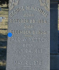 Frederick Wilhelm Yetter