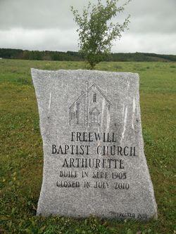 Arthurette Free Will Baptist Cemetery