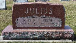 Edith Fern <I>Thompson</I> Julius