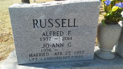 """Alfred F """"Bud"""" Russell"""