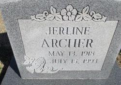 Jerline <I>Hensley</I> Archer
