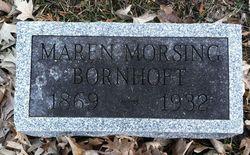 Maren <I>Morsing</I> Bornhoft
