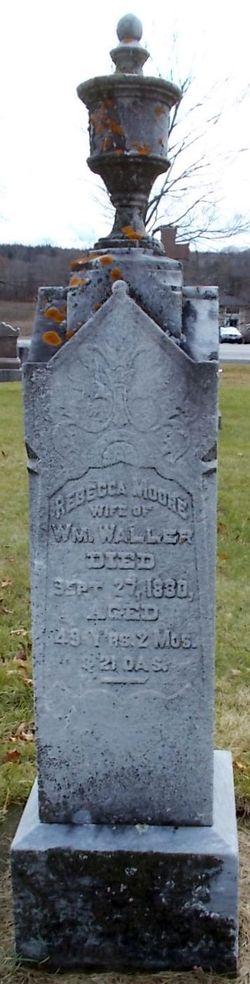 Rebecca <I>Moore</I> Waller