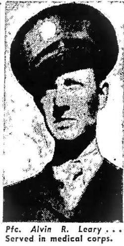 PFC Alvin R Leary