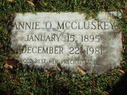 Annie O. McCluskey