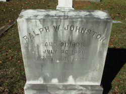 Ralph W. Johnston
