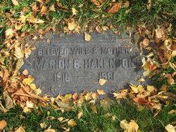 Marion Ella <I>Bishop</I> Hakenson