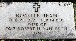 Roselle Jean <I>Brisbin</I> Dahlgren