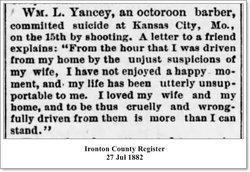 William L Yancey