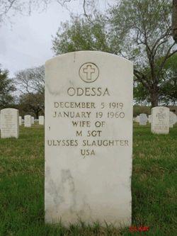 Odessa Slaughter