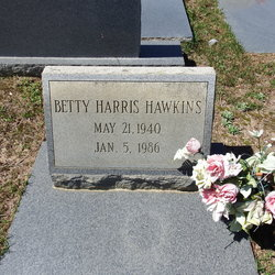 Betty <I>Harris</I> Hawkins