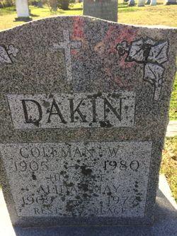 Alida May <I>Glavin</I> Dakin