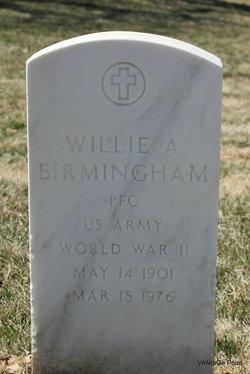 Willie A Birmingham