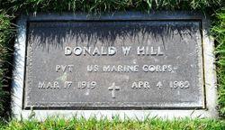 Donald William Hill