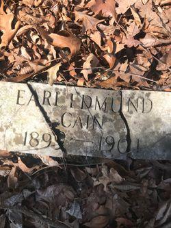 Earl Edmund Cain