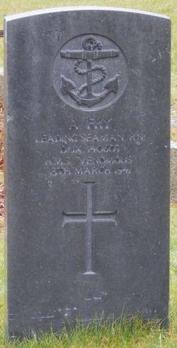 Leading Seaman Albert Fry