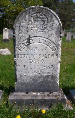 Betsey <I>Reynolds</I> Baldwin