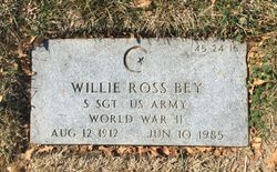 Willie Ross Bey