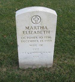Martha Elizabeth Cunningham