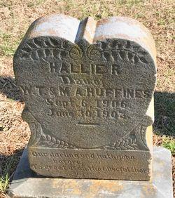 Hallie R Huffines