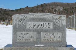 Mary Evelyn <I>Shrader</I> Simmons
