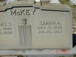 Sarah <I>Allen</I> McKey