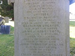 Catherine <I>Smeaton</I> Robertson