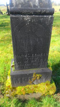 Mary L. <I>Conger</I> McCoy