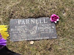 Virginia W <I>Wangler</I> Parnell