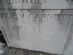 Josie V. <I>McDonald</I> Garnett